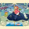 Ponyo en el Acantilado, inspiración para una niña pez