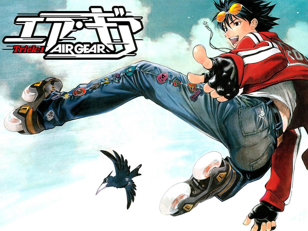 Air Gear ~ Anime Ver. AIR-GEAR-1