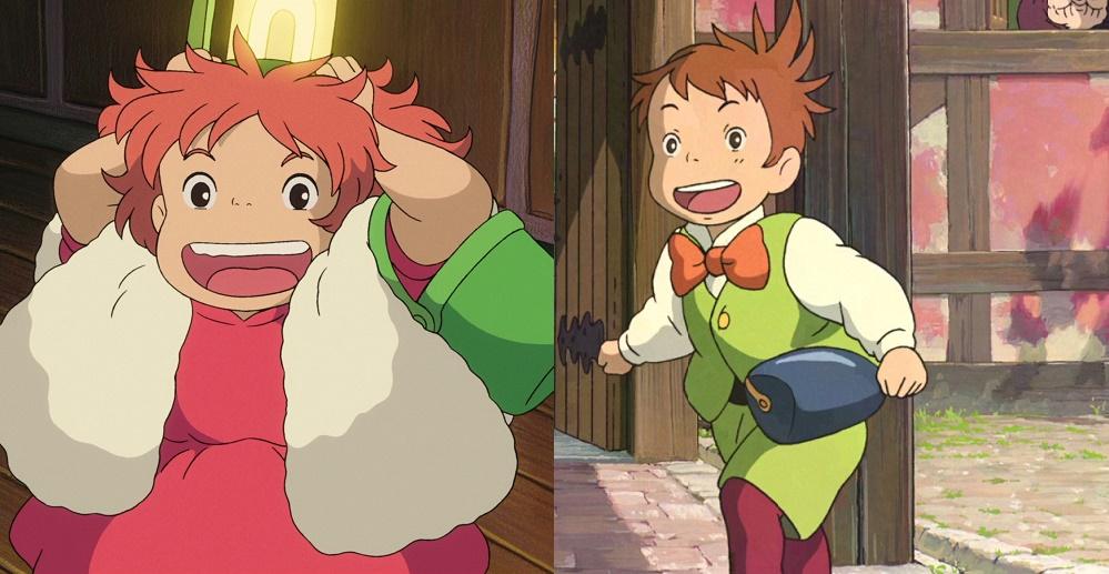 Ponyo y Marco, el aprendiz de Howl en El Castillo Ambulante ...