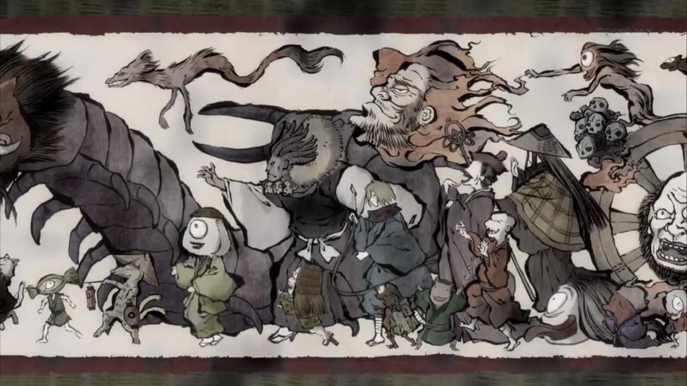 Podcast Criaturas del folclore japonés