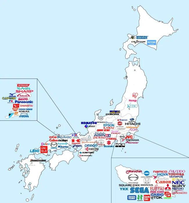 Marcas japonesas